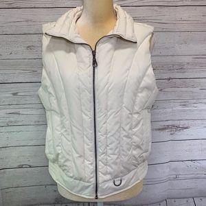 Glacier's Edge Cream Down & Feathers Vest